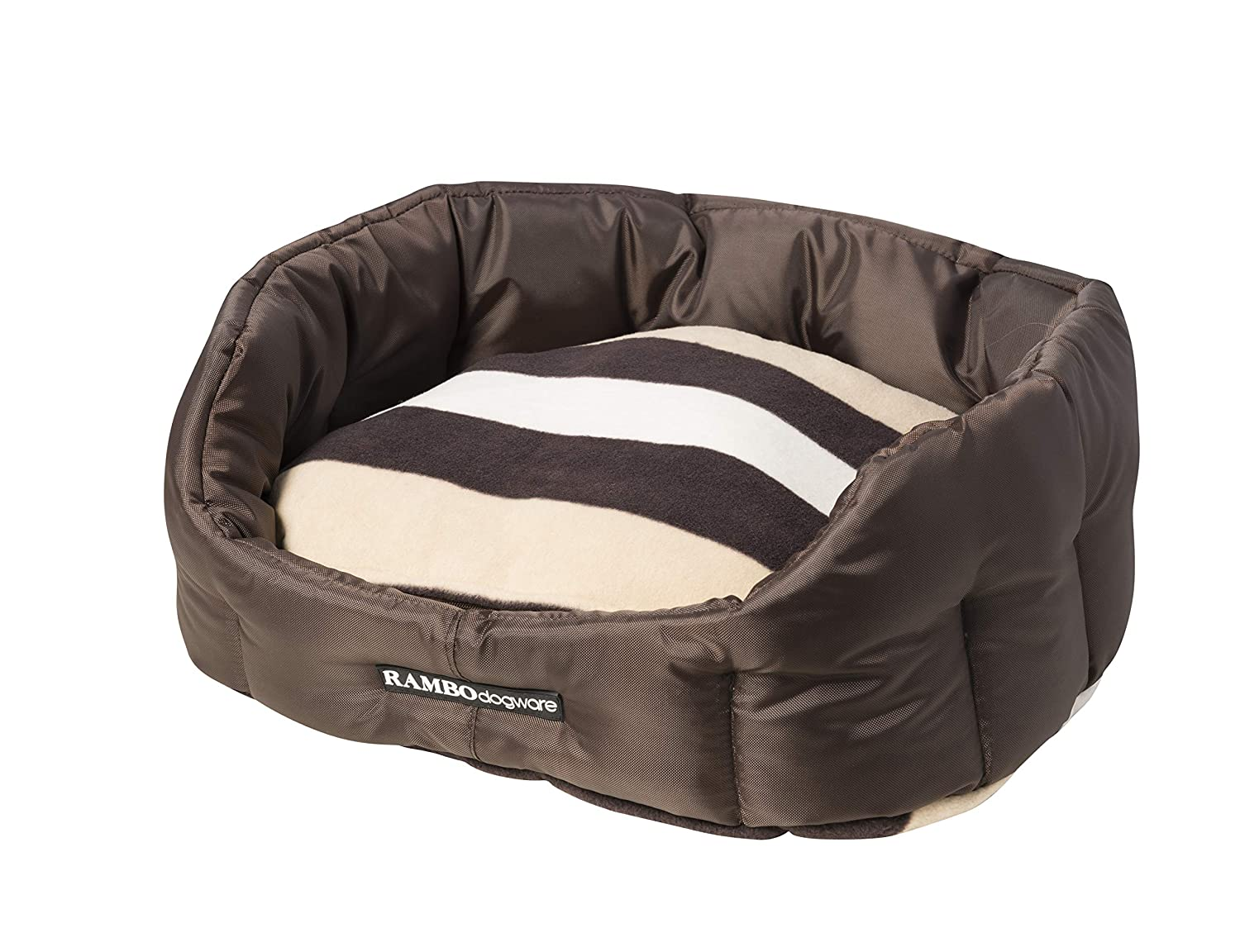 Rambo Deluxe Dog Bed X Small Chocolate Whitney Chocolate