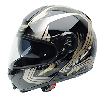 NZI 150252G924XL Combi Duo Gráficos Flip Up Casco de Motocicleta, Makeup Gloss, Talla XL