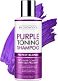 Purple Shampoo for Blonde Hair – Made in USA - Gentle Formula Toning & Hair Care - Removes Brassiness, Yellow…
