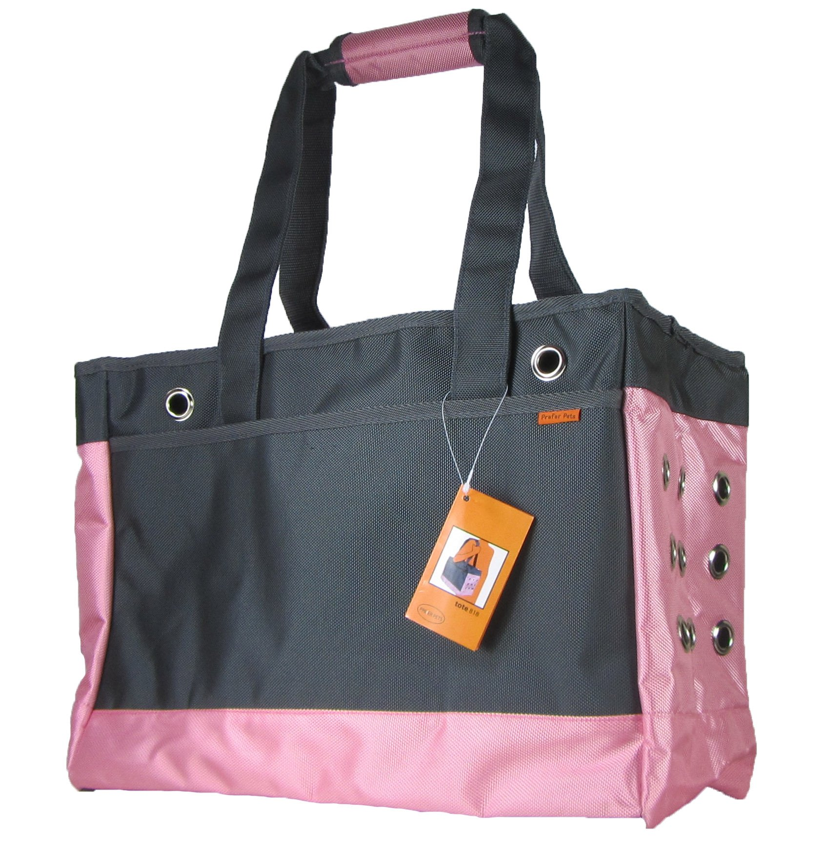 Prefer Pets Continental Tote, Pink