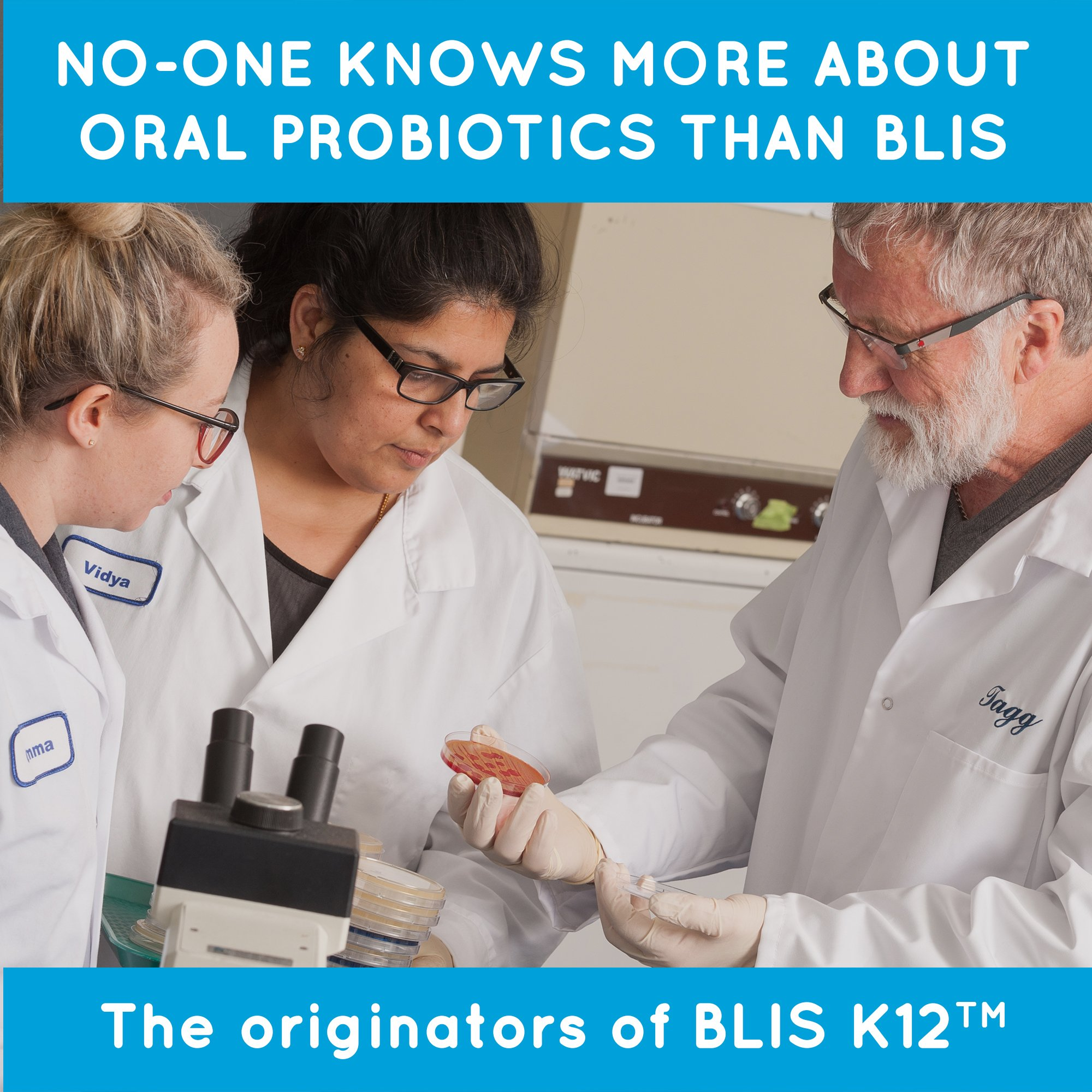 BLIS ThroatHealth Oral Probiotic, Most Potent BLIS K12 Formula Available, 2.5 Billion CFU, Throat Immunity Support for Adults and Kids, Sugar-Free Lozenges, 30 Day Supply by bliss (Image #9)