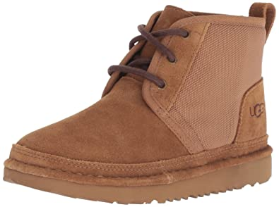 UGG Baby K Classic Unlined Neumel II Chukka Boot, Chestnut, 10 M US Toddler