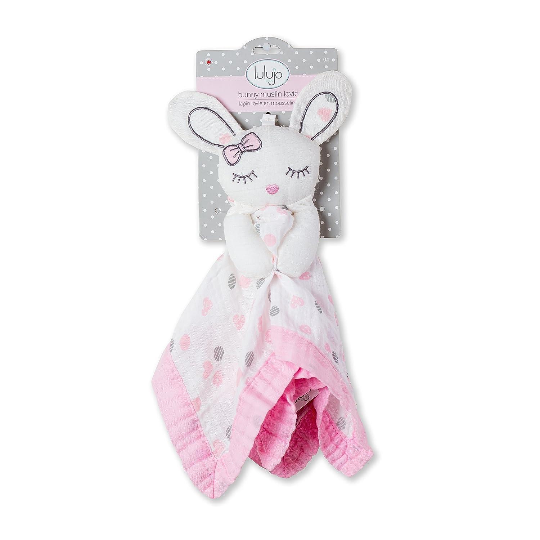 Bunny Lulujo 0628233459008 Lovies Cuddly Blanket