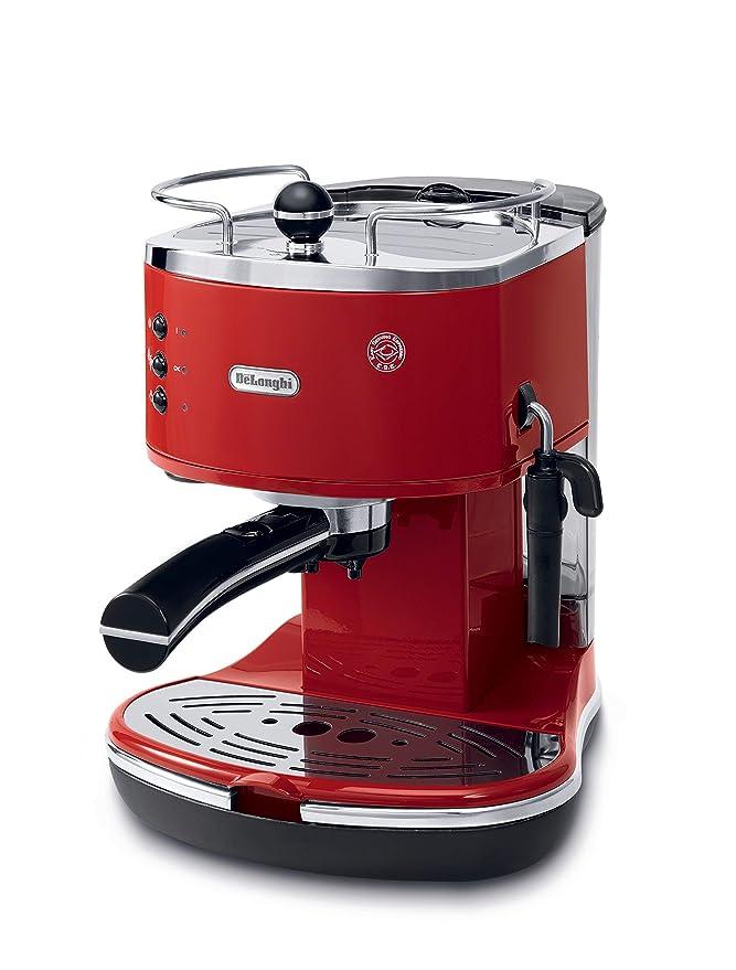 DeLonghi ECO310.R, Rojo, 1050 W, 230 MB/s, 50/60 Hz, 230 x 260 x 300 mm, 4800 g - Máquina de café