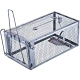 Trapro Humane Rat Trap Cage for Rats Mice Chipmunks and Other Similar-Sized Rodents