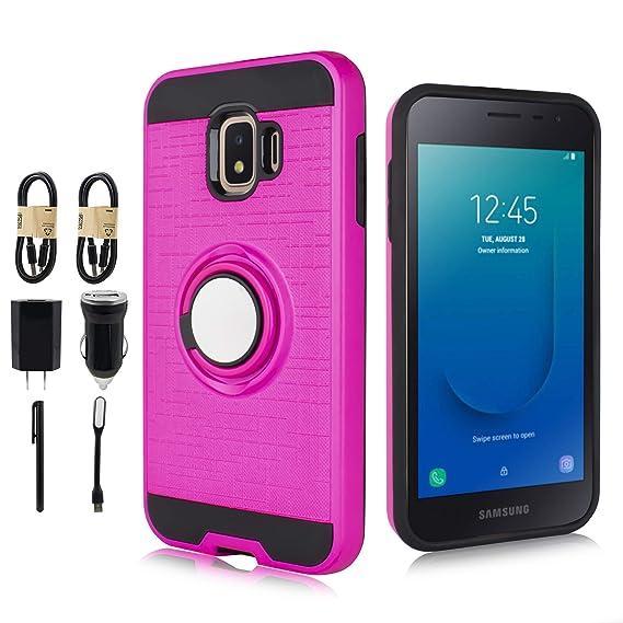 new style 799fb 62b81 Amazon.com: Samsung Galaxy J2 Core Case, 6goodeals Dual Layer ...