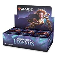 Magic: The Gathering Commander Legends Draft Booster Box | 24 Booster Packs (480 Cards) | 2 Legends Per Pack | Factory Sealed