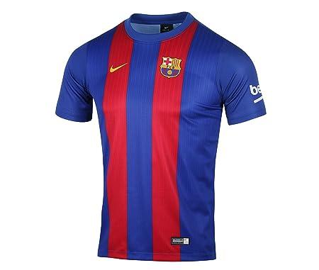 b128fbd2b Amazon.com   NIKE 2016-2017 Barcelona Home Supporters Tee (Kids)   Sports    Outdoors