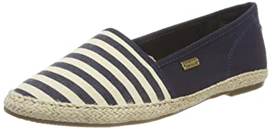 TOM TAILOR Damen 4892008 Espadrilles, Blau (Navy), 36 EU
