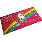 Einhorn Schokolade belive in magic Vollmilch (80g Tafel)