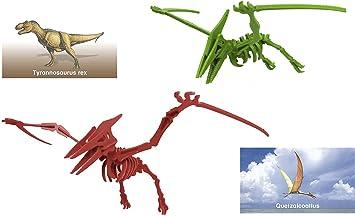 Juego de Rompecabezas 3D de Dinosaurios, Juego de Mesa y pterodáctilo de tamaño Miniatura con linternas de Dinosaurio de Regalo, para niños, Regalos de Fiesta, cumpleaños, Vacaciones y más: Amazon.es: Juguetes y