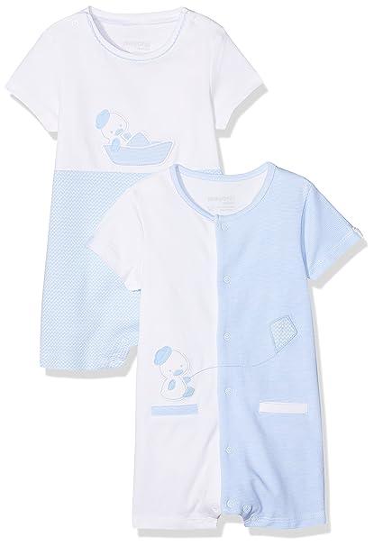 Mayoral 1724, Conjuntos de Pijama para Bebés, Azul (Cielo 44), Recién
