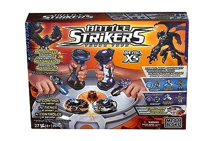 Amazon.com: Battle Strikers Turbo Tops Xs Ultimate Metal ...
