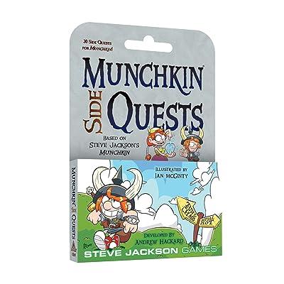 Steve Jackson Games SJG4264 Munchkin Side Quests Games: Toys & Games