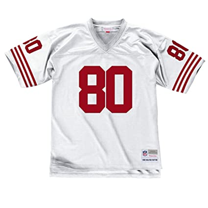 more photos a0168 a52f0 Mitchell & Ness San Francisco 49ers Jerry Rice 1990 Throwback Jersey-White