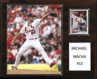 product image for C&I Collectables MLB St. Louis Cardinals Michael Wacha Player Plaque, 12 x 15-Inch