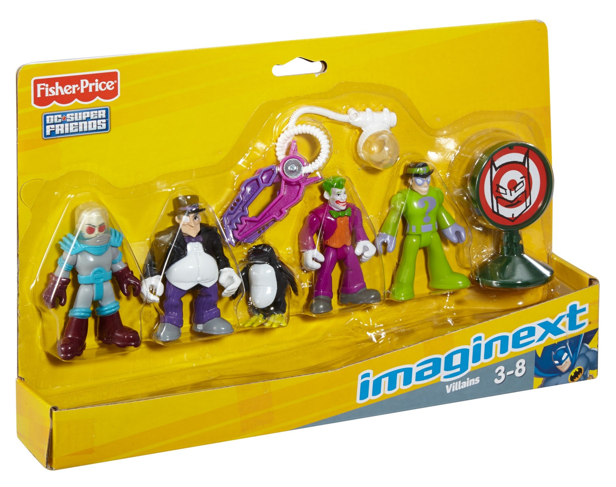 Fisher-Price Friends Imaginext DC Super Villains Action Figure by Fisher-Price (Image #1)