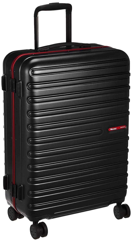 [サンコー] スーツケース WIZARD-M WIZM-60 ダブルホイールキャスター TSAロック 軽量 58L 60cm 4.6kg WIZM-60  ブラック B07HCCVZ7S