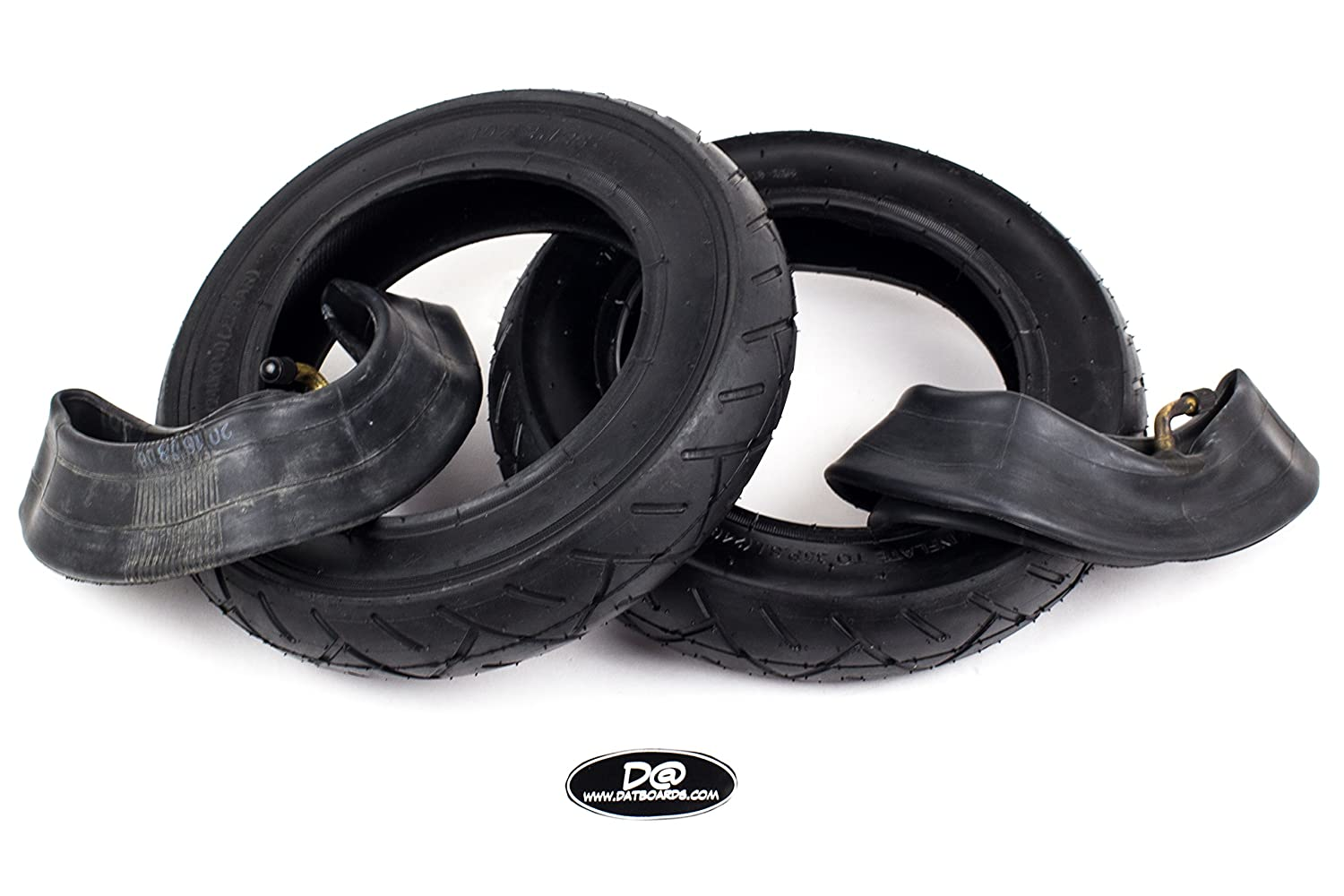 10x2.125in set of 2 Rubber tires and innertubes for self balance scooter hoverboards D@Boards