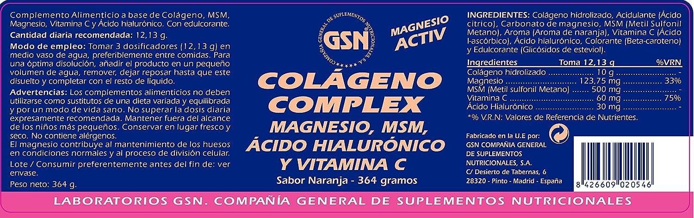 GSN - COLAGENO COMPLEX 364g NARAN GSN