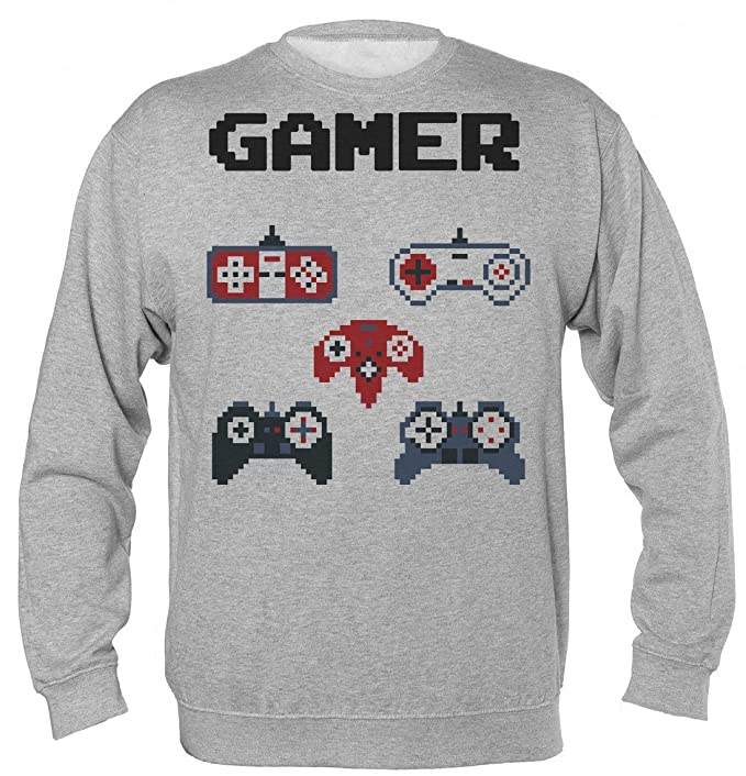 Gamer Starter Kit A Bunch Of Remotes Unisex Sudadera: Amazon.es: Ropa y accesorios