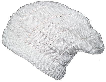 FRIENDSKART Woolen Beanie Cap for Men Boys Winter Stylish White  Amazon.in   Sports 40737fb681e
