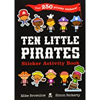 Ten Little Pirates Sticker Activity Book
