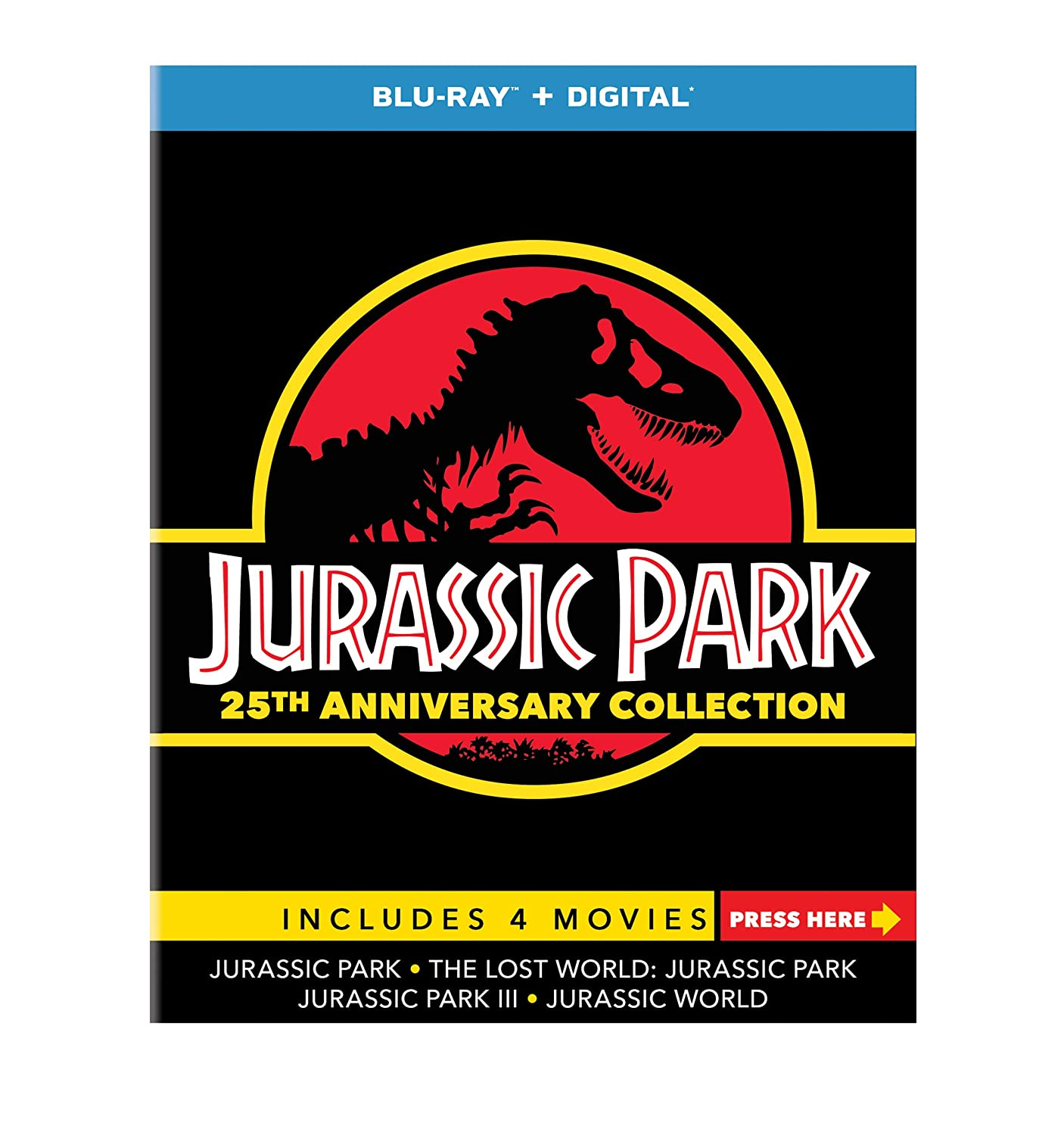 Jurassic Park 25th Anniversary Collection ONLY $21.99 (Reg. $45)