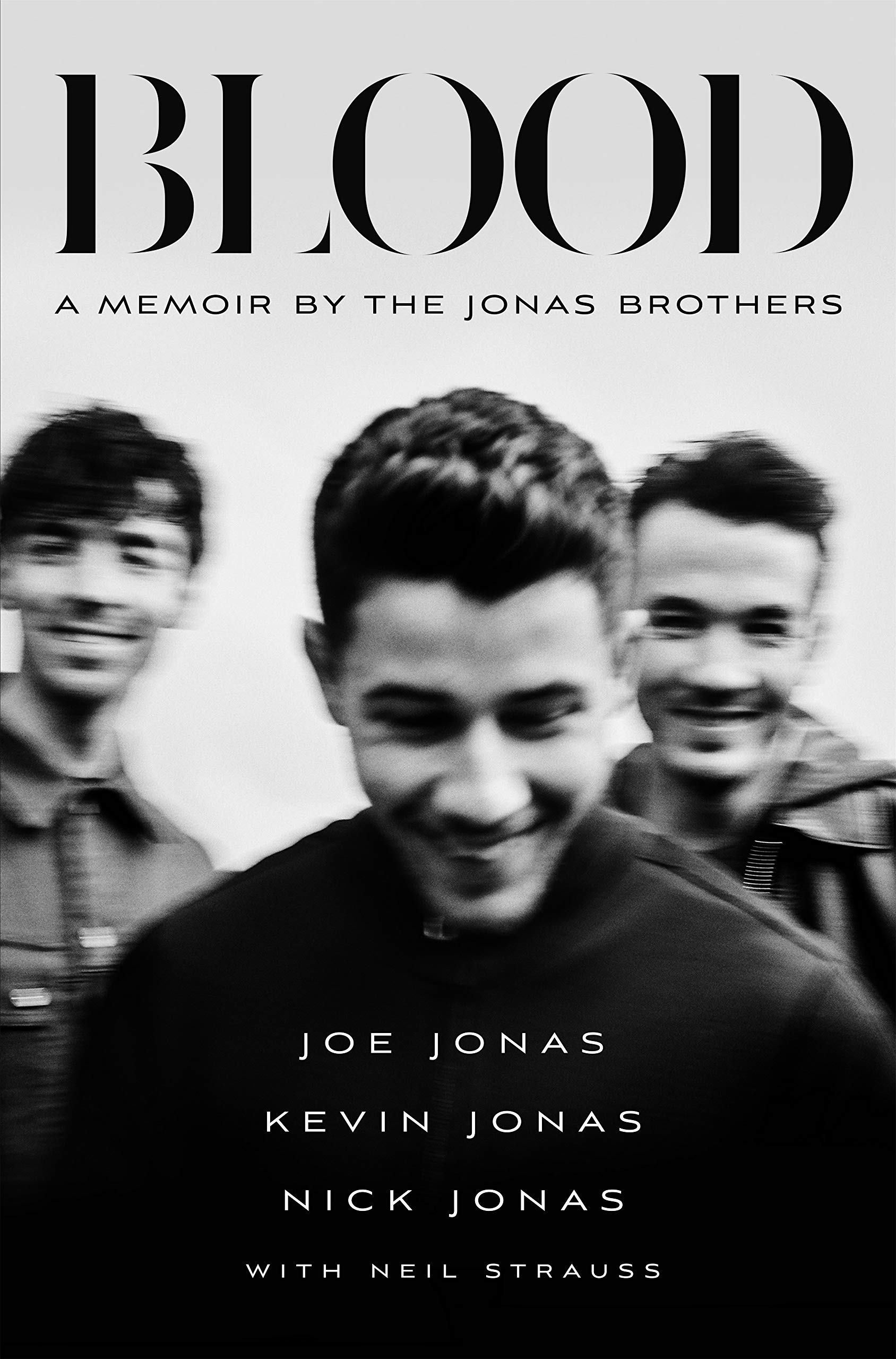 Blood: A Memoir by the Jonas Brothers by Feiwel & Friends