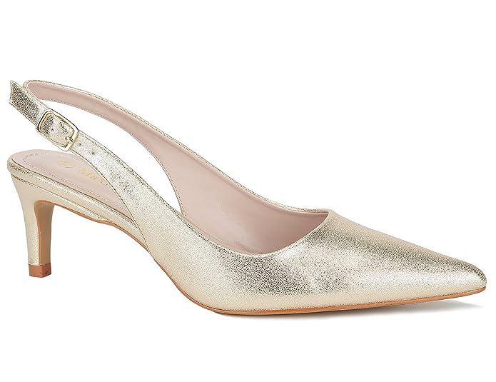 1960s Shoes: 8 Popular Shoe Styles MaxMuxun Women Shoes Classic Slingback Kitten Heels Dress Pump $25.99 AT vintagedancer.com