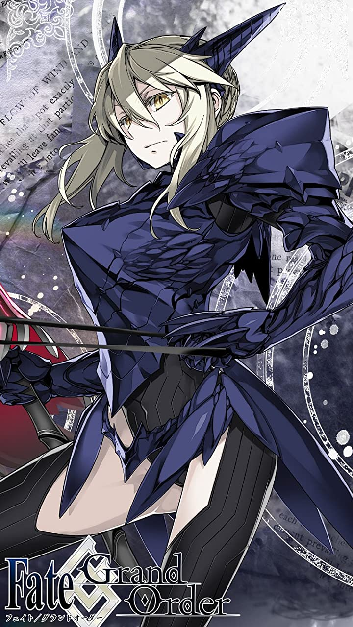 Fate Fgo アルトリア ペンドラゴン 槍オルタ Hd 720 1280 壁紙 画像