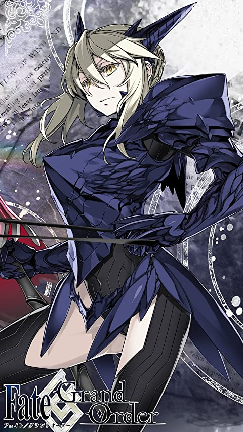 Fate FGO アルトリア・ペンドラゴン 槍オルタ XFVGA(480×854)壁紙 画像70848 スマポ