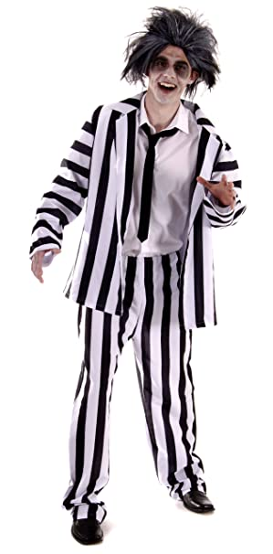 crazy ghost adult halloween costume extra large adult hb79