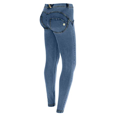 Amazon.com: Freddy WR.up - Pantalones vaqueros para mujer ...