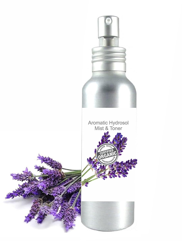 Hydrolat Organique Eau Florale de Lavande 100ml - Brumisateur BIO Tonique Calmant et Anti Imperfections Made in France