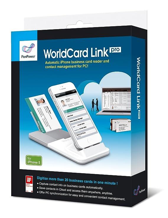 Penpower inc swcliph5en worldcard link pro for iphone 5 amazon penpower inc swcliph5en worldcard link pro for iphone 5 amazon electronics reheart Images