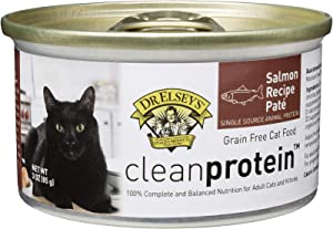 Dr. Elsey's Cleanprotein Salmon Formula Canned Cat Food, 3oz (Case of 18)