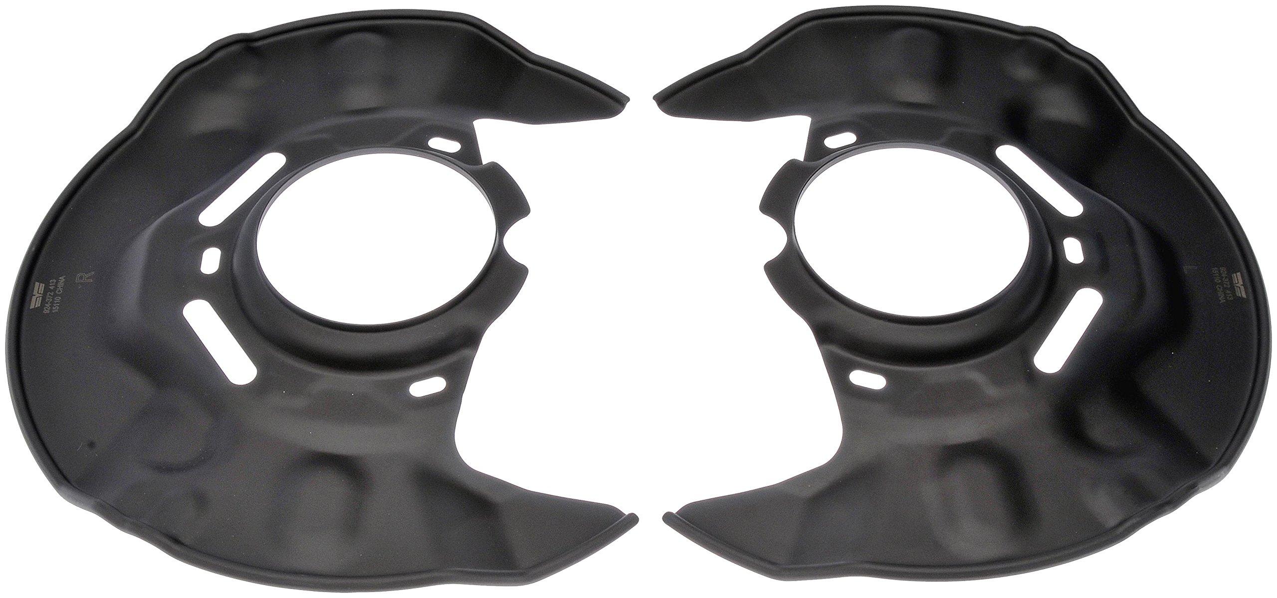 Dorman 924-372 Brake Dust Shield, Pair by Dorman