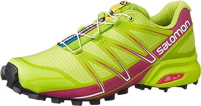 Salomon L38319000, Zapatillas de Trail Running para Mujer, Verde (Granny Green/Granny Green/Deep Dalh), 45 1/3 EU: Amazon.es: Zapatos y complementos