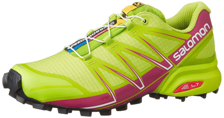 Salomon Speedcross Pro Women's Trail Running Shoes - AW15 B017USVSF0 9.5 B(M) US|Green