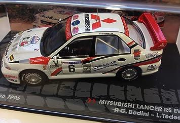 Générique Mitsubishi Lancer RS EVO III- Rally San Marino 1996 - BEDINI - IXO 1/43: Amazon.es: Juguetes y juegos