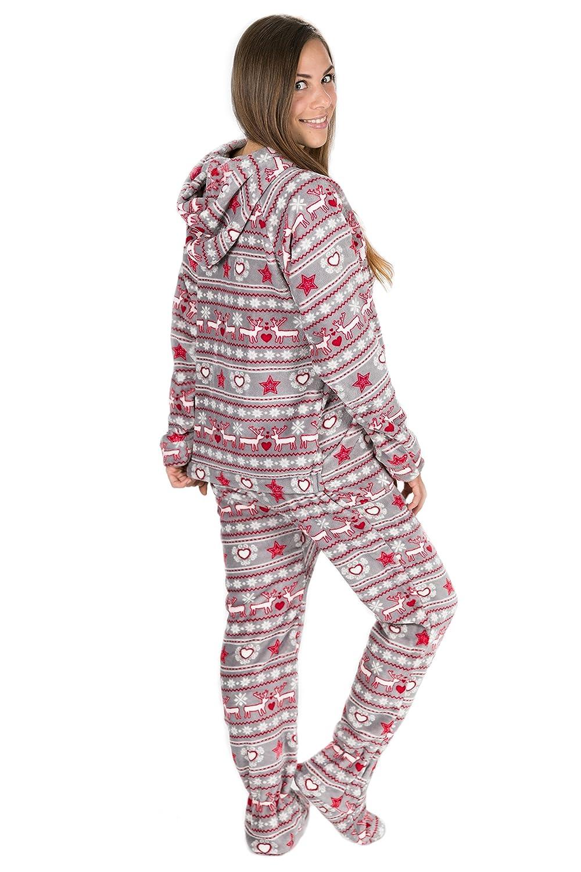 estilo único nueva llegada envío complementario Pijamas enteros con abertura trasera | Pijamas.de