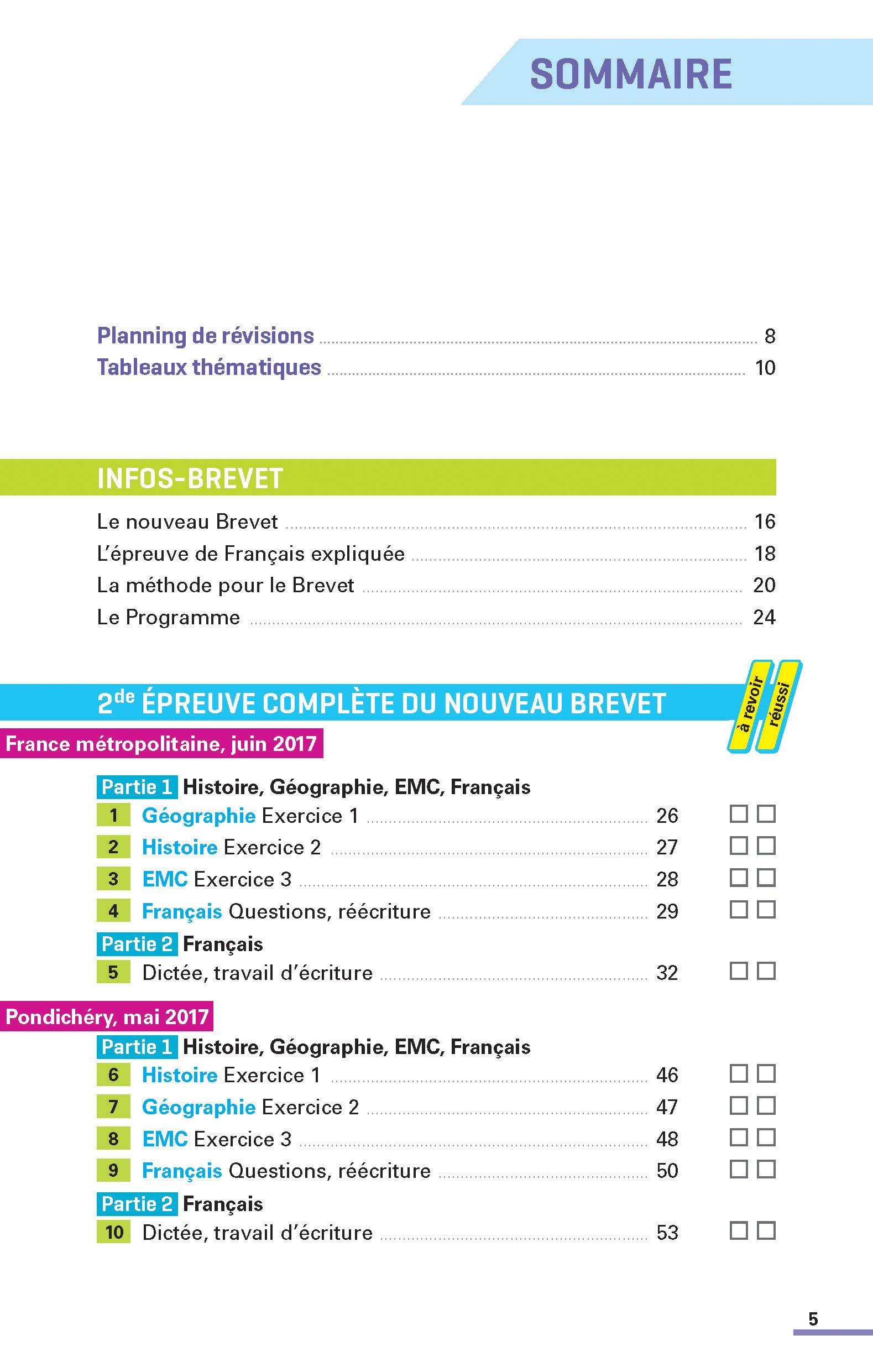 Annales Brevet - Français 3e - Corriges - 2018 Annales ABC du Brevet: Amazon.es: Thomas Bouhours, Céline Mimouni, Maria-Antonia Pinto, Laure Genet, ...