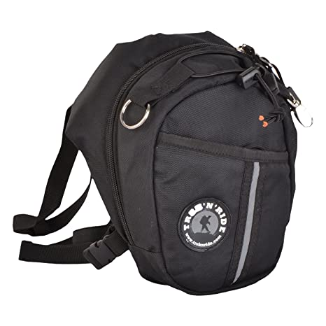 b5227f738a94 Buy Trek  N  Ride 201740 Polyester Thigh Bag (Black) Online at Low Prices  in India - Amazon.in