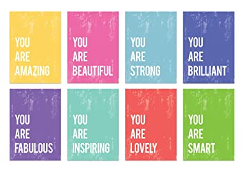 You Are Mini Collection 5x7 Wall Art Prints Typography Nursery Decor Kids