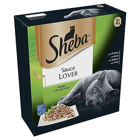 Sheba - Comida con Salsa para Gatos