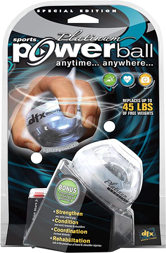 from DFX Powerball Platinum Green w// PowerDock NEW