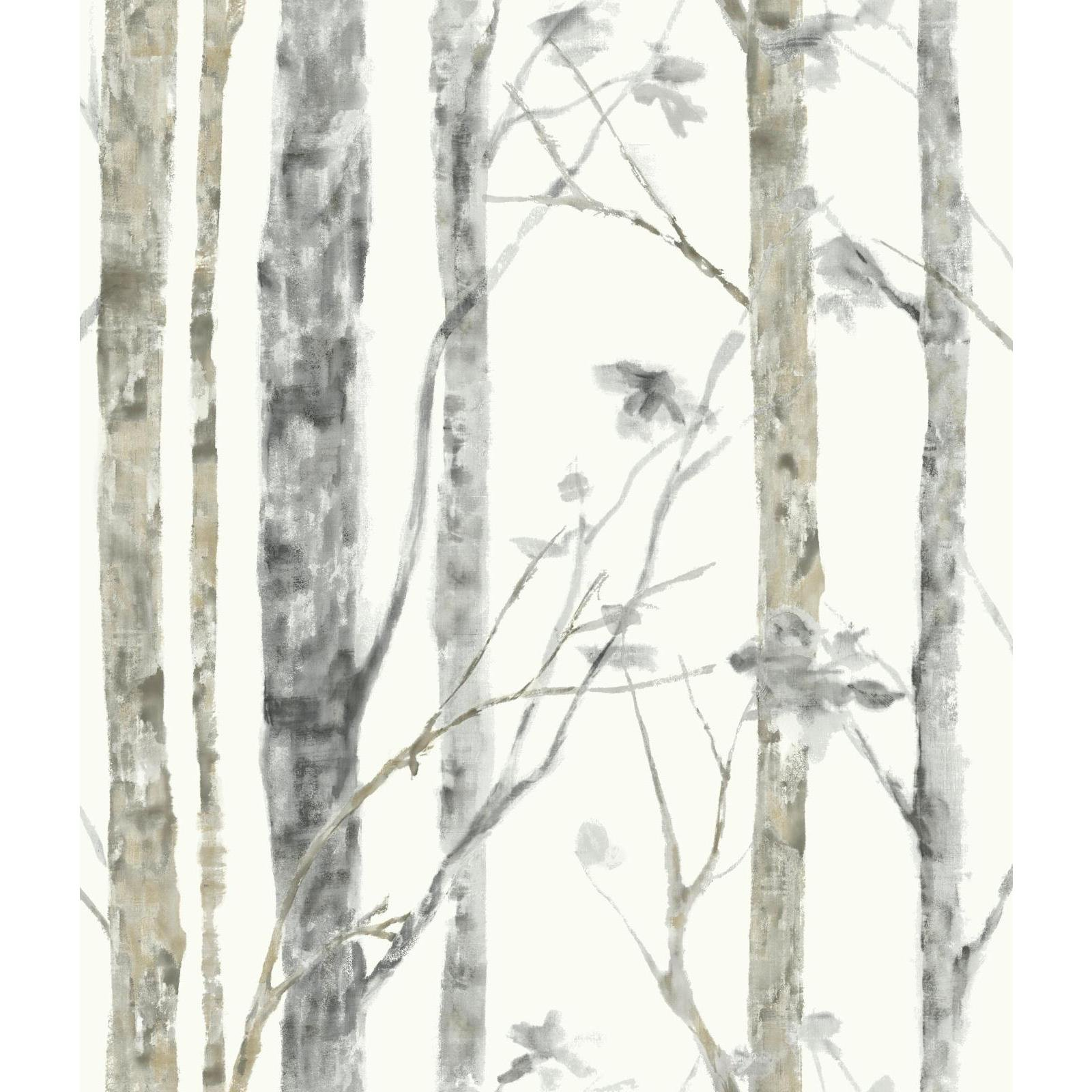 RoomMates Birch Trees Peel and Stick Wallpaper by RoomMates