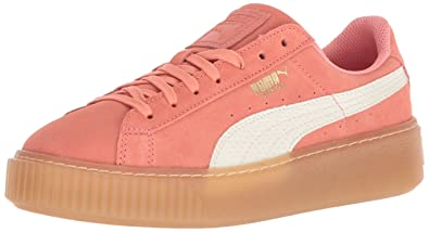 PUMA Unisex Suede Platform SNK Kids Sneaker c70ec8725