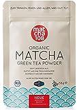 Matcha Pulver Tee 108 – Bio Zeremonie Qualität (für milden Teegenuss) – Ideal auch für Smoothies und Lattes –Zertifiziertes Grüntee Pulver [58g Ceremonial Grade Green Tea]